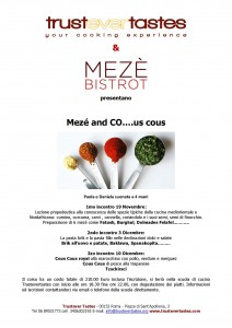 Mezè and CO.us cous novembre 2013